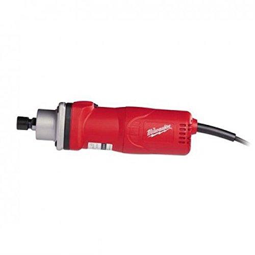 Milwaukee 0002335 Amoladora Recta, Cuello Largo, 7000 rpm Velocidad, 6/8 mm Pinza, 600 W Potencia