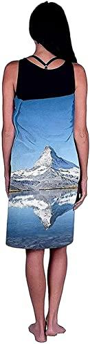 LUYIQ Asciugamano da Spiaggia in Microfibra,Asciugatura Rapida Telo Mare -Cervino Zermatt Svizzera-70x150CM,Sottile Teli Asciugamano Mare per Yoga, Piscina,Bagno