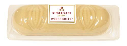 Niederegger Marzipan Weißbrot, 4er Pack (4x 125 g)