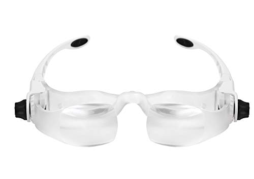magnification glasses TV Magnifying Glasses 1.5X 3.8X TV Glasses Distance Viewing Television Screen Magnifier Magnifying Goggles Magnifying Glasses Headband Magnifier Headset Magnification Glasses Fishing Telescope Glass