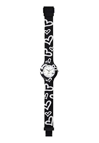 Hip Hop Watches - Orologio da Donna Hip Hop Black HWU0904 - Collezione Be Loved - Cinturino in Silicone - Cassa 32mm - Impermeabile - Nero