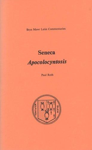 Apocolocyntosis (Bryn Mawr Latin Commentaries)