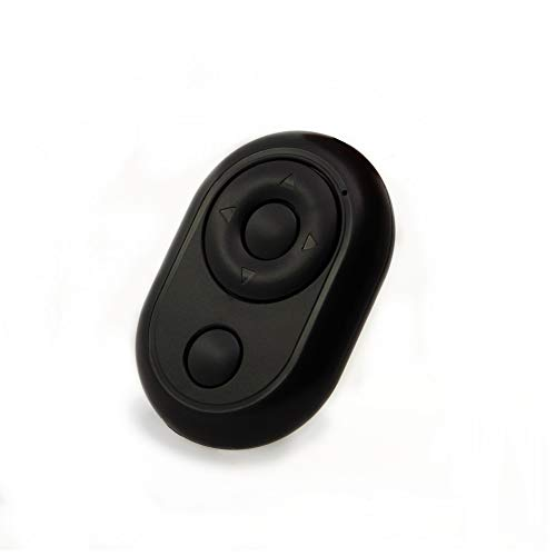 ZITOOP Bluetooth Remote Shutter-Page Turner: TikTok-Fernbedienung, drahtlose Selfie-Taste für iPhone und Android-Fernbedienung (Weiß)