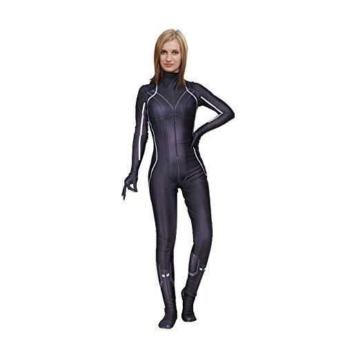 gousheng Halloween KostüM Cosplay Siamese Strumpfhose Show Out Cos KostüM MäDchen Kleidung Enge Leder XL