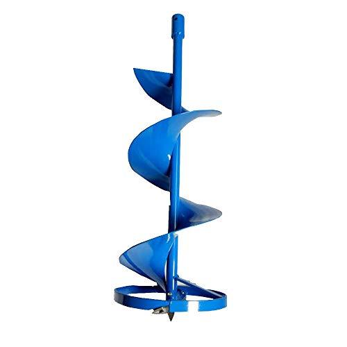 MXBAOHENG Erdbohrer Eisbohrer Eisbohrer Werkzeug von Erdlochbohrer für Aquakultur/Eisfischen Höhe 80 cm Durchmesser 150/200/250/300 mm 200mm