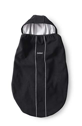 BabyBjörn 028156 Bezug für Babytrage, schwarz, 300 g