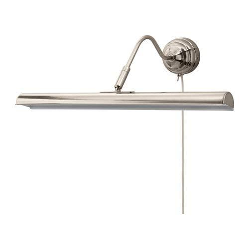 IKEA (イケア) ARSTID オースティード LEDアート照明 ニッケルメッキ 003.556.23