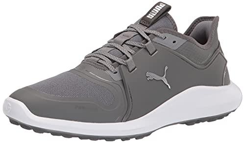 PUMA Men s Ignite Fasten8 Golf Shoe, Quiet Shade-Quiet Shade, 7.5