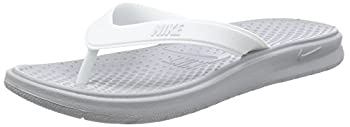 Nike Women s Solay Thong Sport Sandal Wolf Grey/Pure Platinum-White 8 Regular US