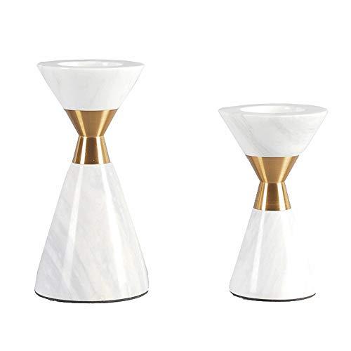 Huisdier Bowl 2 Marmeren Kandelaars Hotel Clubs Ambachten Ornamenten Woonkamer Kat Gift, Free size, 2