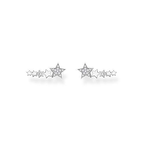 Thomas Sabo Women's Earrings Ear Climber Stars Silver 925 Sterling Silver