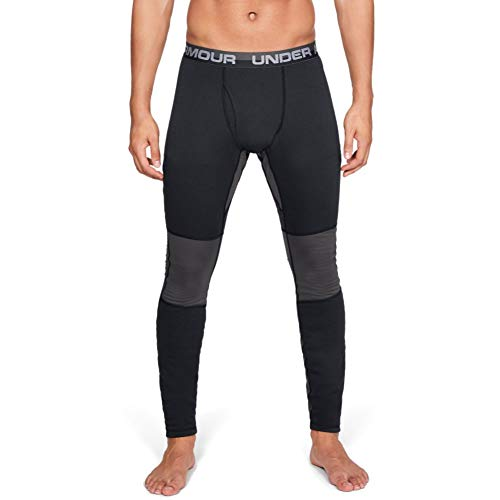 Under Armour Men's Extreme Twill Base Leggings, Black (001)/Charcoal, Large