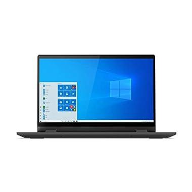 Lenovo IdeaPad Flex 5i 14″ Convertible Laptop, FHD (1920 x 1080) Touch Display, Intel Core i3-1115G4 Processor, 4GB DDR4 RAM, 128GB SSD, Intel UHD Graphics, Win 10 in S Mode, 82HS000GUS, Graphite Grey
