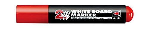コクヨ 再生樹脂ホワイトボード用マーカー 中字 ロング筆記タイプ 赤 PM-BL102R