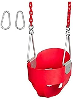 XIANGYU Baby Swing Seat - Baby Toddler For Kids Activities Seat Complete Set RED