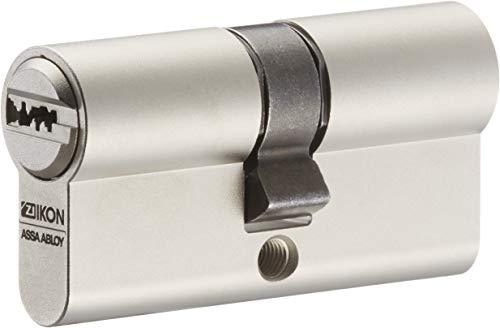 IKON RW6 Doppelzylinder mit Not- und Gefahrenfunktion 35/45 inkl. 5 Schlüssel - Wendeschlüssel-Sicherheitszylinder - Sicherungskarte - Patentschutz bis 2036 - Einzelschließung
