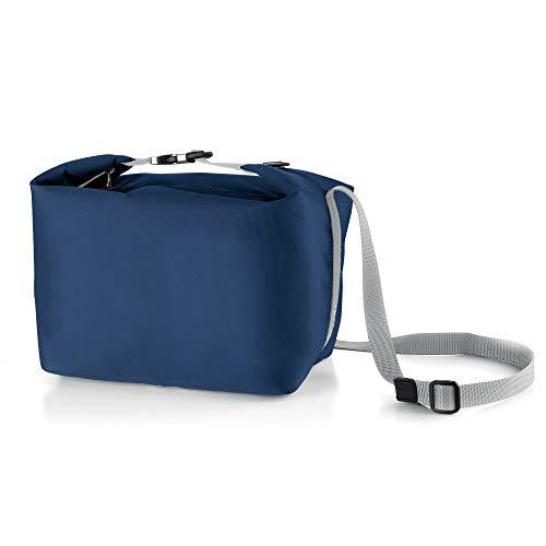 Guzzini Fashion On The Go Borsa Bauletto Termica, Poliestere, PVC, polietilenet, Stainless Steel, Blu, 07