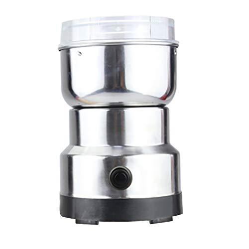 NIVNI Licuadora, Molinillo de café eléctrico Molinillo de Acero Inoxidable para moler Semillas de Granos de café