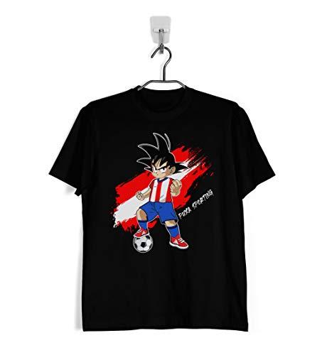 Ropa4 Camiseta Goku Sporting de Gijón (M)