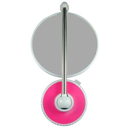 TWISTMIRROR Miroir Intelligent grossissant 10x Couleur: Framboise