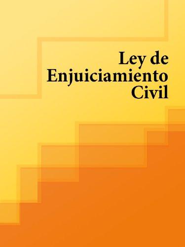 Ley de Enjuiciamiento Civil - L.E.C. (España) eBook: Los libros de ...