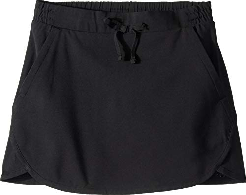 Columbia Youth Girl's Sandy Shores Skort, Moisture-Wicking, UV Protection, Black, 183321-010-X-Large