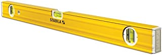 Stabila 29224 24-Inch Magnetic 3-Vial Contractors Level