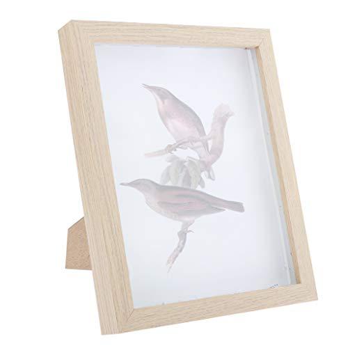 dailymall Holzbilderrahmen Bilderrahmen mit Glas, Geburtstagsgeschenk für DIY Handarbeiten und Zuhause Dekoration - C