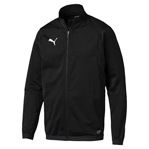 Puma Herren LIGA Training Jacket Jacke, Schwarz Black White, L