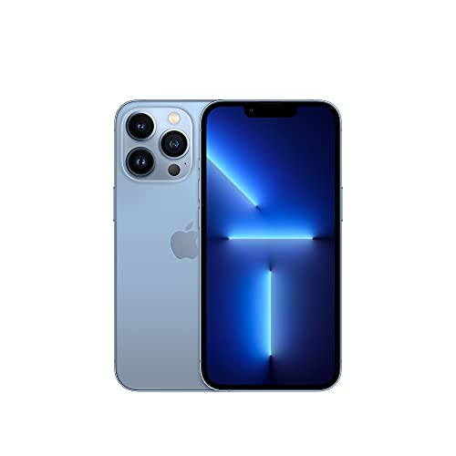 Apple iPhone 13 Pro (128GB, Sierra Blue) [Locked] + Carrier Subscription