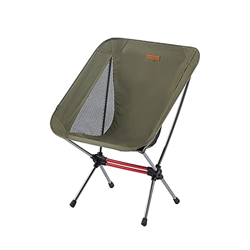 Tabouret Pliant Chaise Pliante extérieure Portable Chaise Pliante Ultra légère Dossier de Chaise de Camping Petit Tabouret Surface de siège élargie
