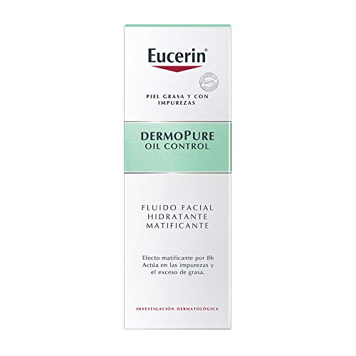 Eucerin Dermopure Oil Control Matifying And Moisturizing Fluid 50ml