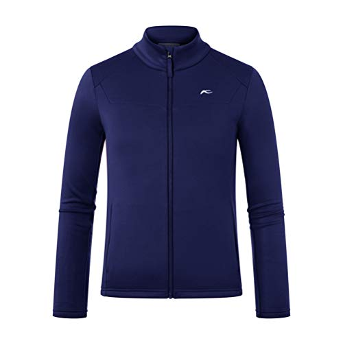 KJUS Boys Charger Midlayer Jacket Blau, Kinder Isolationsjacke, Größe 164 - Farbe Into The Blue