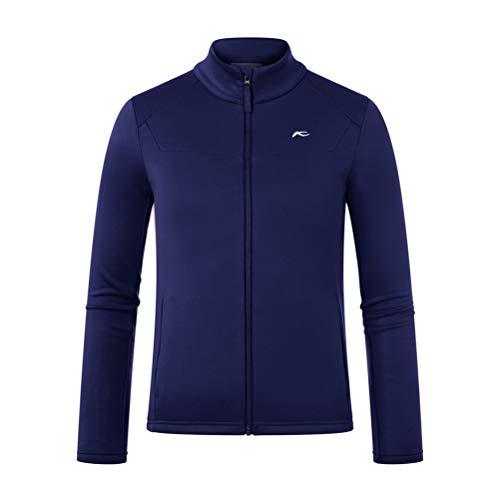 KJUS Boys Charger Midlayer Jacket Blau, Kinder Jacke, Größe 164 - Farbe Into The Blue