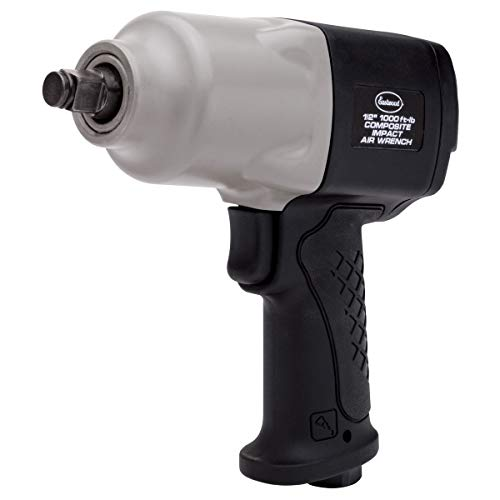 Eastwood 1/2 in. 1000 Ft/Lbs Composite Hammer Pneumatic Air Impact Drive Wrench Square Drive Variable Speed