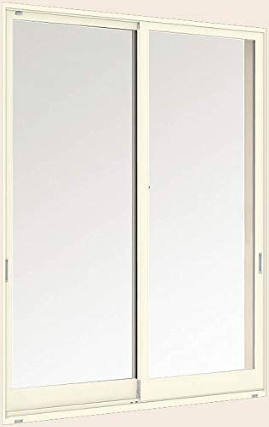 レーザ人生を作る解任デュオPG 引き違い2枚建て 半外付型 17603 W:1,800mm × H:370mm ガラス種類:透明3mm-A12-透明3mm 製品色:ホワイト(W) アングル:付 LIXIL リクシル TOSTEM トステム