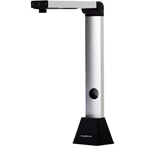 bamboosang D800 スキャナー ドキュメントスキャナー 800万画素 書画カメラ 最大A3サイズ対応 非破壊 多言語OCR機能 自動連続スキャン オンライン授業 LEDライト付き