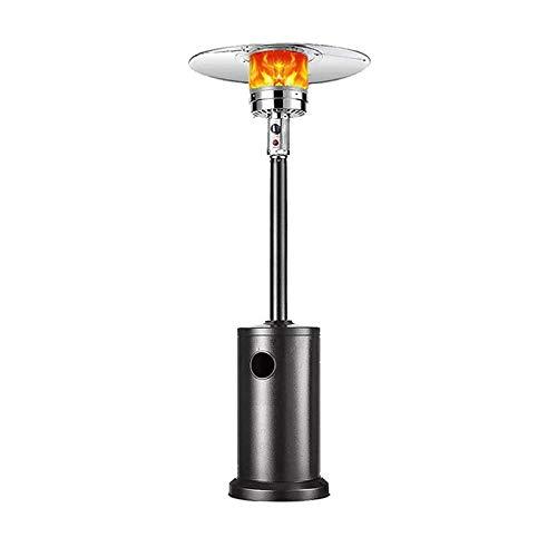Patio Calentador de Gas, Gas Natural Calentador de Altura es de 88 Pulgadas, un Calentamiento rápido, Apagado automático Función al Caer (Color : Natural Gas Style)