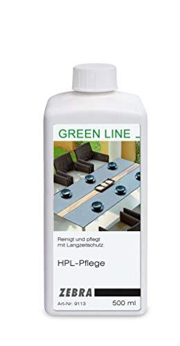 Zebra HPL Pflegemittel für Tischplatten 500ml - Green Line Pflege für Gartenmöbel