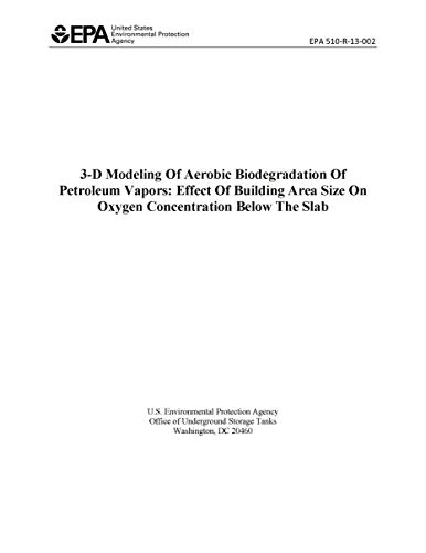 3-D Modeling Of Aerobic Biodegradation Of Petroleum Vapors: Effect Of Building Area Size On Oxygen Concentration Below The Slab (English Edition)