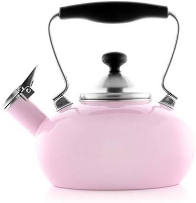 Chantal Zenith Teakettle 1 8 quarts Pink product image