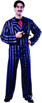 Gomez Fancy Dress Kostuum - Addams Familie (TM) (volwassen maat)