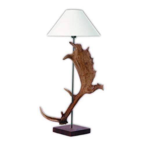 Hi-Life Living Nature Lampe mit echten damhirschgeweih. Nein Lampenschirm. 159621