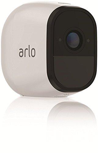 Arlo Pro VMS4230 Telecamere di Sicurezza Wifi, senza Fili, Batterie Ricaricabili, Audio a 2 Vie, HD, Interno/Esterno, Visione Notturna, Kit 2 Telecamere