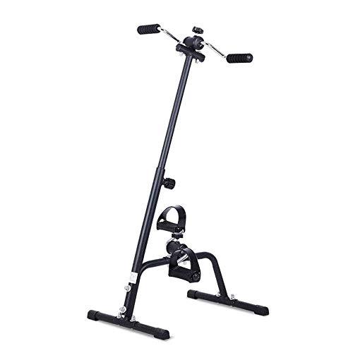 WGFGXQ Mini Bicicleta estática Ejercitador Sentado, Bicicleta de rehabilitación Bicicleta de Ejercicios de Entrenamiento de Miembros Superiores e Inferiores para Personas Mayores para Usar Mientras
