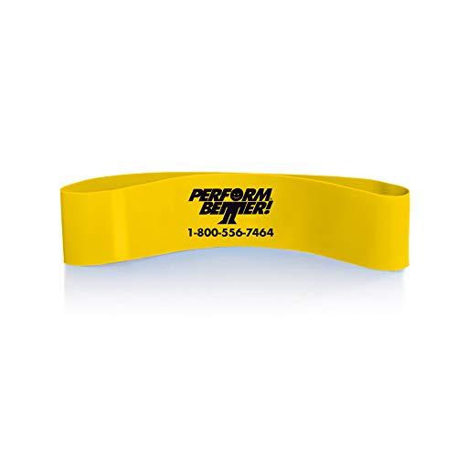 PERFORMBETTER+ Miniband Stärke leicht, 20 cm, Gelb