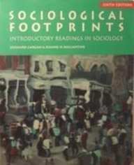 Sociological Footprints: Introductory Readings in Sociology (Sociology Series)
