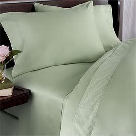 Why Should You Buy Sage Plain - Solid California King Luxury 100% Natural Combed Cotton Bed in a Bag...