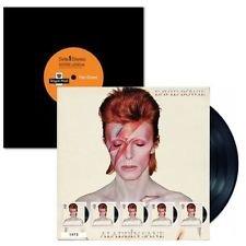 2017 David Bowie Aladdin Sane - Hoja de ventilador de edición limitada numerada - Cubierta del álbum, Sellos de correo real