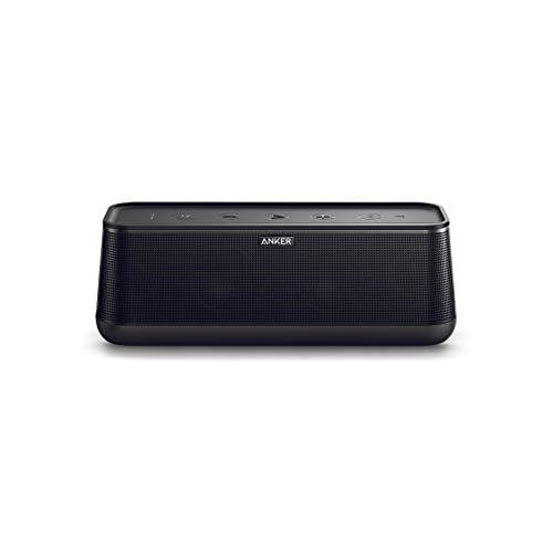 Anker Soundcore Pro+ Enceinte Bluetooth 25W avec basses puissantes et son haute définition - Enceinte portable Bluetooth 4.2 avec 4 drivers, autonomie de 18 heures, technologie NFC et chargement USB